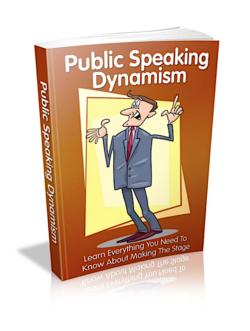 Public Speaking Dynamism PLR Bundle