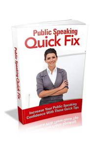 Public Speaking Quick Fix PLR Bundle