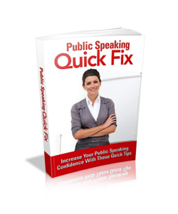 Public Speaking Quick Fix PLR Bundle