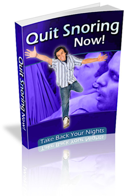 Quit Snoring Now PLR Bundle