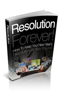 Resolution Forever PLR Bundle