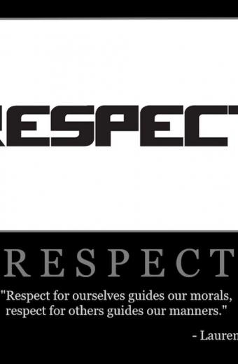"Free ""Respect"" Wallpaper"