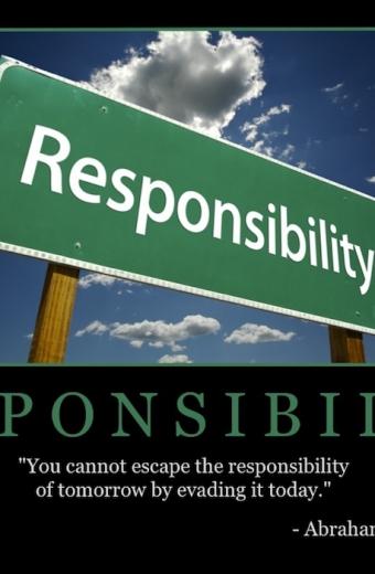 "Free ""Responsibility"" Wallpaper"