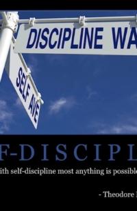 "Free ""Self-Discipline"" Wallpaper"