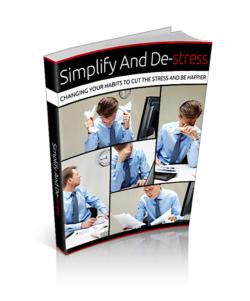 Simplify And Destress PLR Bundle