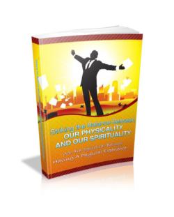 Striking Balance Between Physical And Spiritual PLR Bundle
