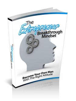 The Entrepreneur Breakthrough Mindset PLR Bundle