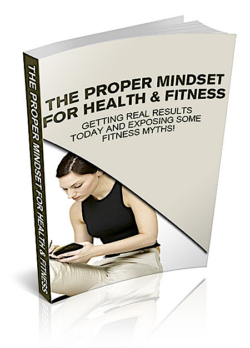 The Proper Mindset For Health & Fitness PLR Bundle