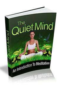 The Quiet Mind PLR Bundle