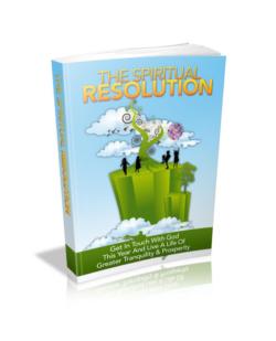 The Spiritual Resolution PLR Bundle