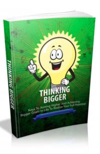 Thinking Bigger PLR Bundle