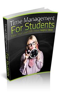 Time Management For Students PLR Bundle