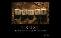 """Free """"Trust"""" Wallpaper"""