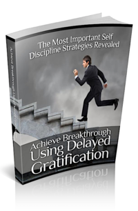 Using Delayed Gratification PLR Bundle