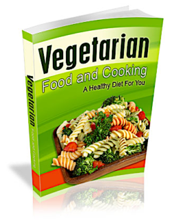 Vegetarian Food And Cooking PLR Bundle