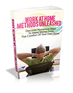 Work At Home Methods Unleashed PLR Bundle