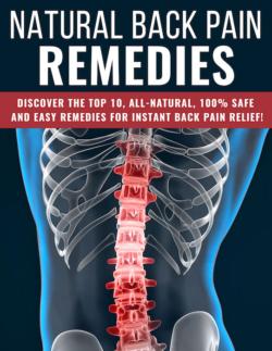 Natural Back Pain Remedies PLR Bundle