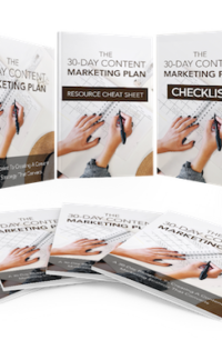The 30-Day Content Marketing Plan PLR Bundle