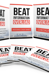 Beat Information Overload PLR Bundle