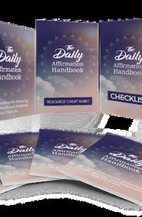The Daily Affirmation Handbook PLR Bundle