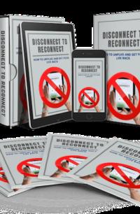 Disconnect To Reconnect PLR Bundle