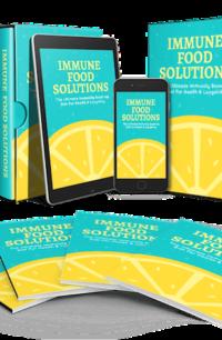 Immune Food Solutions PLR Bundle