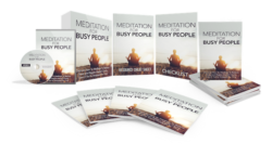 Meditation For Busy People PLR Bundle