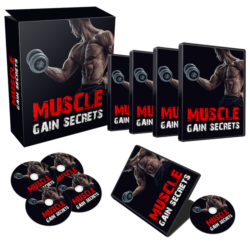 Muscle Gain Secrets PLR Bundle