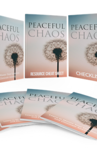 Peaceful Chaos PLR Bundle