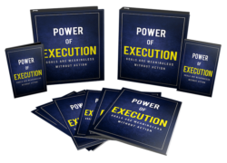 Power Of Execution PLR Bundle