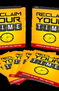 Reclaim Your Time PLR Bundle