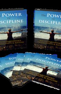 The Power Of Discipline PLR Bundle