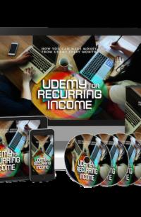 Udemy For Recurring Income PLR Bundle