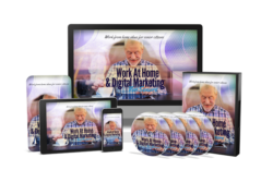 Work At Home & Digital Marketing For Seniors PLR Bundle