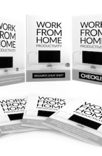 Work From Home Productivity PLR Bundle